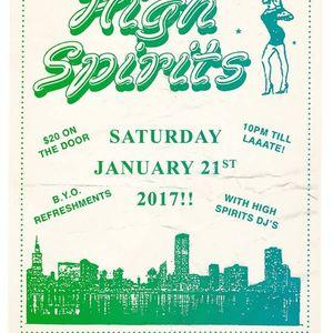 High Spirits taster mix 2017