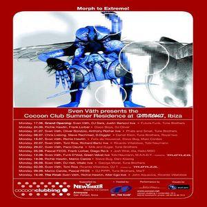 Richard Bartz aka Acid Scout (Live PA) @ Cocoon Club Summer Residence - Amnesia Ibiza - 22.07.2002