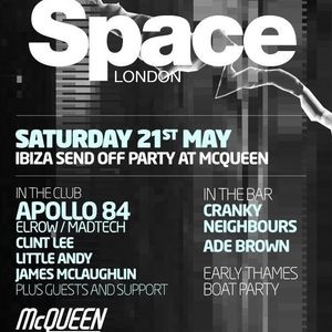 Ade Brown: Space London - Later