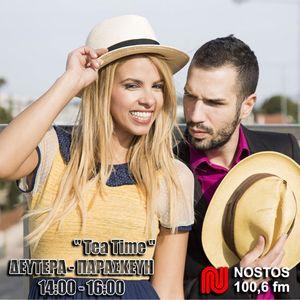 ''Tea Time'' με τη Τζένη και τον Αλέξανδρο στο NOSTOS 100.6 Stay tuned!! (18-05-17 )