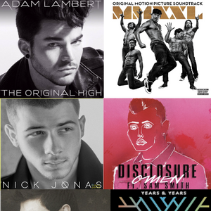 Male Pop Artists 2015 (Continuous Mix)