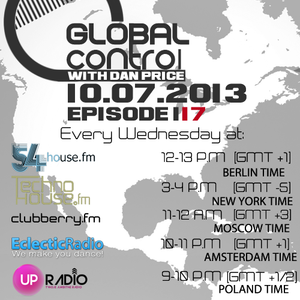 Dan Price - Global Control Episode 117 (10.07.13)