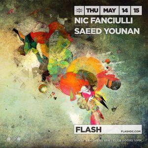 Saeed Younan Live FLASH DC with Nic Fanciulli