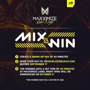 St0ne - LIVE MIX For ADE Maxximize Label Night Contest 2018
