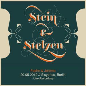 Foehn & Jerome @ Stein und Stelzen - Sisyphos Berlin, 20-05-2012