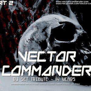 Dj Alex Strunz @ Vector Commander Tribute Set 14 years - Part 02 - 2016