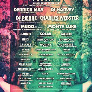 dAvi A. SUNSET CAMPOUT 2012 LIVE DJ MIX. 7/14/12