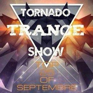Tornado Trance Show. Top 25 of Septembre 2013