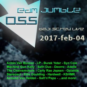 EDM Jumble 055 - Daji Screw live 2017-02-04