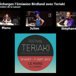 Retrouvez l'émision Birdland de Radio Alpa concernant le festival Teriaki