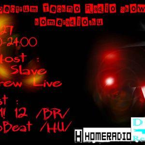 Andrew Live @ Spectrum Techno Homeradio 2012.11.27.
