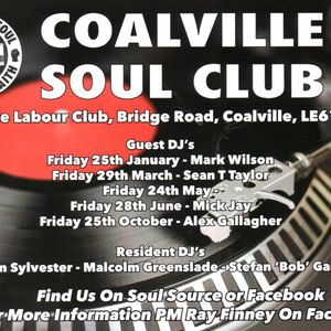 Coalville Northern Soul Club January 25th 2019