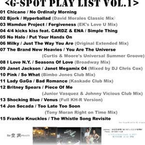 G-SPOT Play List Vol.1