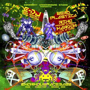 "E-Dj ""EnormouSpaceBass"" - Dubstep-Grime-Mixtape f. Zero Plastica & Rino"