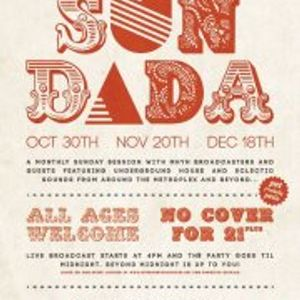 Live @ MHYH presents Sundada- 11-20-11