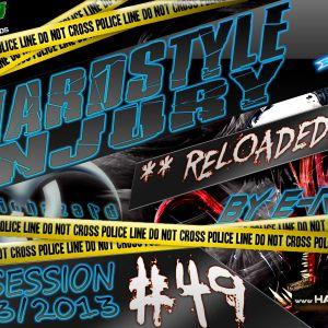 E Razer – Hardstyle Injury * Reloaded * Live #49 | 28/03/13