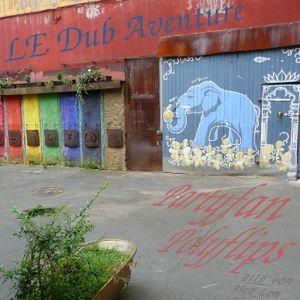 Partyfan-Polyflips -- LE Dub Aventure