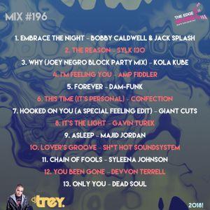 The Edge 96.1 MixMasters #196 - Mixed By Dj Trey (2018) :: Nu Disco // Funk // Soul