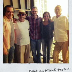 Painel Cultural  - Jorge Salomão e Zé Paulo, Tropicália, Música e Poesia! - 13-09-13