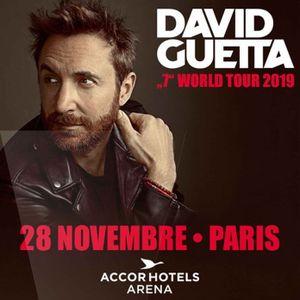 David Guetta @ 7 World Tour, AccorHotels Arena Paris, France (28-11-2019)
