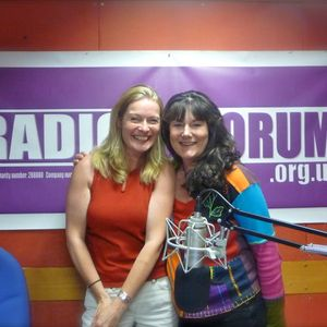 The most energetic Helen Meissner on Radio Dacorum's Sarah on Sunday show (13/7/2014)