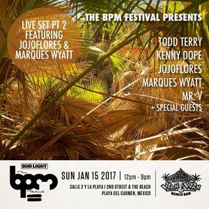BPM Festival Legends Pt 2 jojoflores & Marques Wyatt