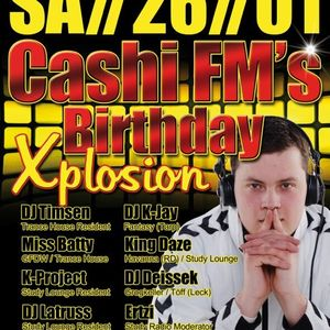 Cashi's FM B-Day Bash ( 7 DJ's Live in the mix) part 6