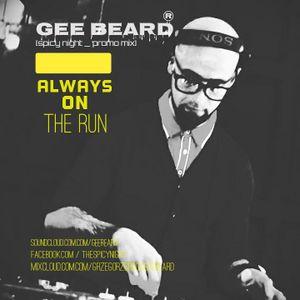 GEE BEARD_[SPICY NIGHT PROMO_MIX]_ALWAYS on THE run !