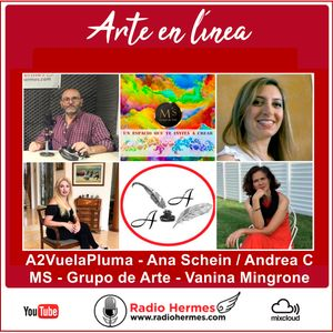 Arte en línea - 10-11-20 - Ana Schein - Andrea C - Vanina Mingrone