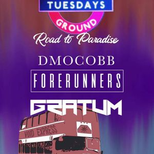 DmoCobb at Underground Tuesdays - Road To Paradise Pre-Party
