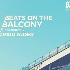 Craig Alder - Beats On The Balcony - July 2017