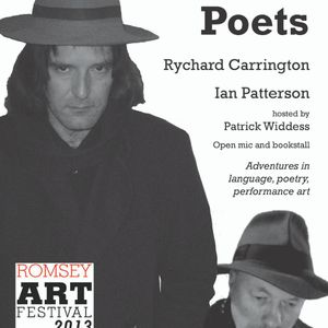 7.9.13 - Rychard Carrington and Friends at Romsey Poets