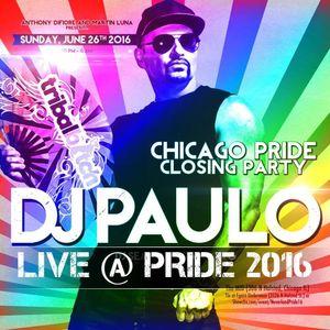 DJ PAULO LIVE ! @ PRIDE (Jun 2016) www.djpaulo.com