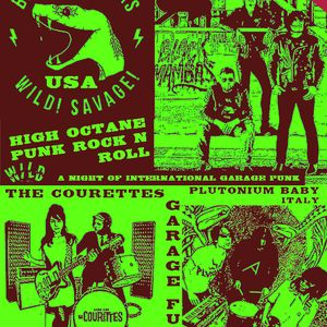 This FRIDAY 24th July BLACK MAMBAS, COURETTES, PLUTONIUM BABY