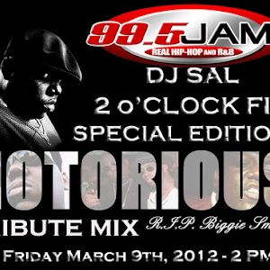 Notorious Tribute Mix (2 O'Clock Fix Special Edition)