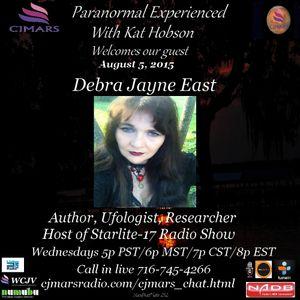 Paranormal Experienced with Kat Hobson 20150805  Debra Jayne East