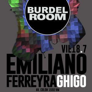 Ghigo 18-07-2014 @ Burdel Room (Warm up for Emiliano Ferreyra)