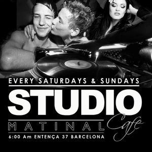Sergio Lamas live set @ studio matinal