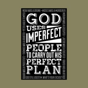God's Perfect Plan Within an Imperfect Person
