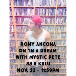 March 28, 2015 Radio Show: Romy Ancona & Mystic Pete on 88.9FM KXLU