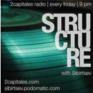 """Structure"" Radio Show (2Capitals Radio, Paris) fresh/exclusive by Kristina Vixen (18.02.2011)"