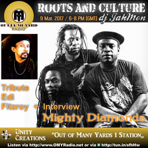A tribute to the late and great Edi Fitzroy plus all the hits of the Mighty Diamonds