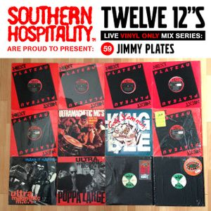 Twelve 12's Live Vinyl Mix: 59 - Jimmy Plates - Ultramagnetic MC's Special!