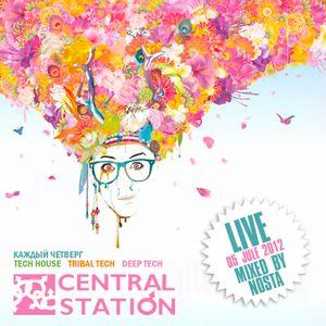 NOSTA - Central Station (Live 05.07.2012)