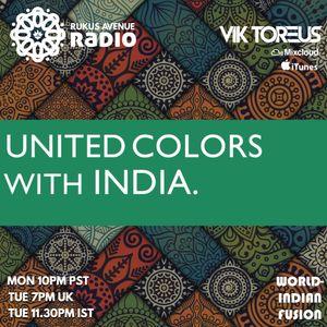 UNITED COLORS with INDIA. Radio 061: (Bangla Urban, Arabic, Bhangra, Urban Desi, Spanish, Hiphop)