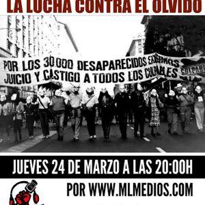 Forjando Futuro - 40 años del golpe militar en Argentina