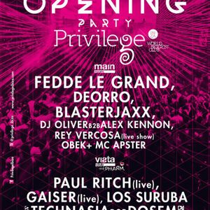 Arian 911  -  Live At Privilege Opening Party (Ibiza)  - 30-May-2014
