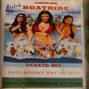 Pauli & Nelcia's Boat Ride May 1st Live Audio 2 DJ Costo