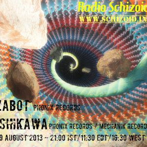 Zabot [Phonix Records] - Live on Radio Schizoid - August 2013