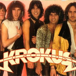 SPECIAL THE HARD ROCK BAND KROKUS FROM SWITZERLAND GREAT BAND  IN ONDAS metallicas